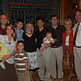 My family at my parents' 40th wedding anniversary