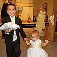 Joni and George's wedding