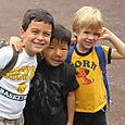 Cole, Nathan, Will at Bear Creek Nature Camp
