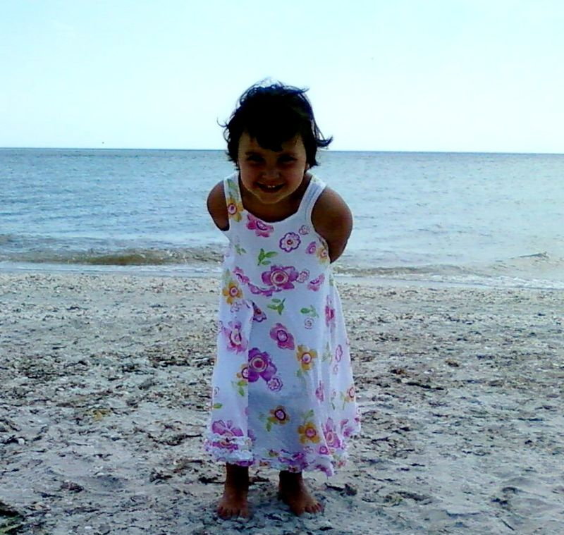 Cute maya at beach