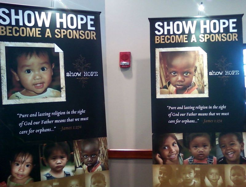Show hope posters