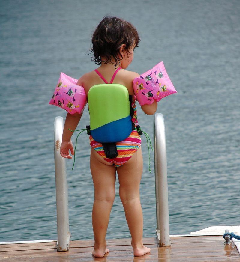 Ready to swim