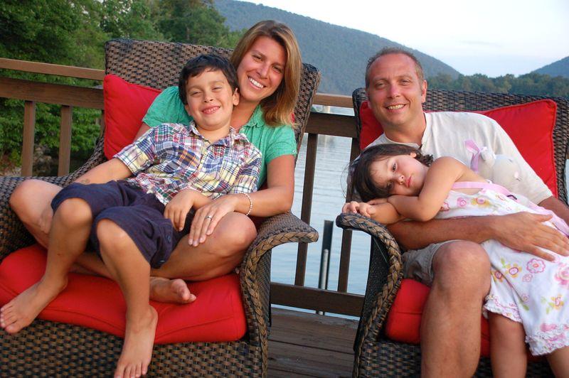 Family-Smith Mt Lake laps