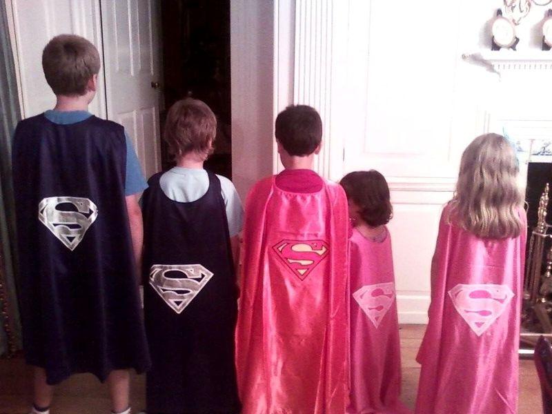 Superhero capes