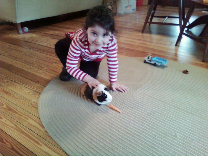 Maya and guinea pig