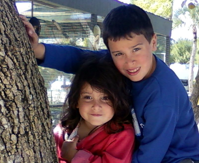 Tree pic of cole and maya only