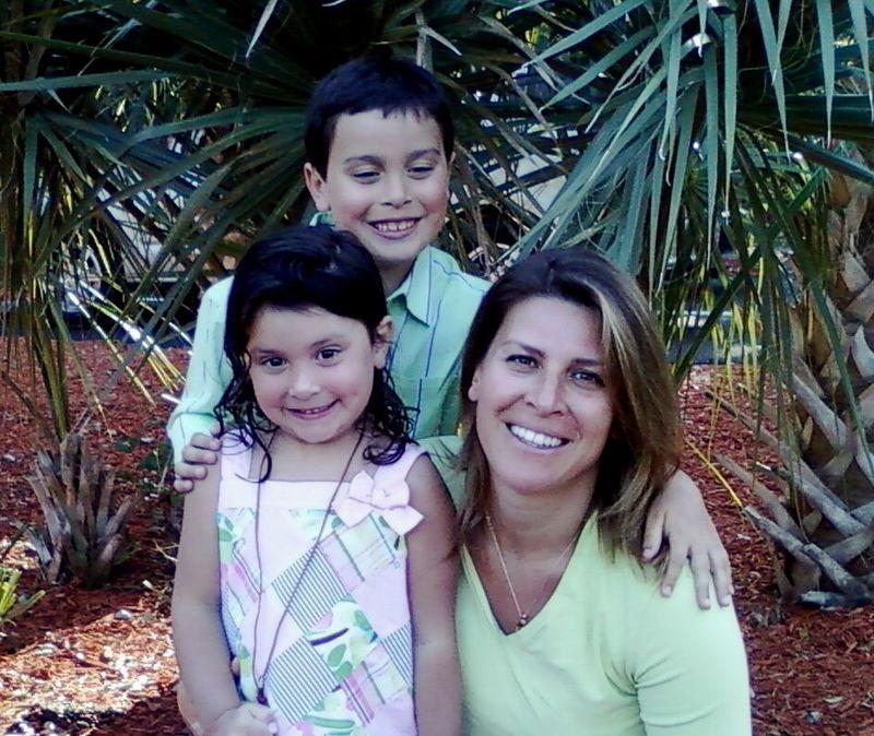 Mom and kiddos