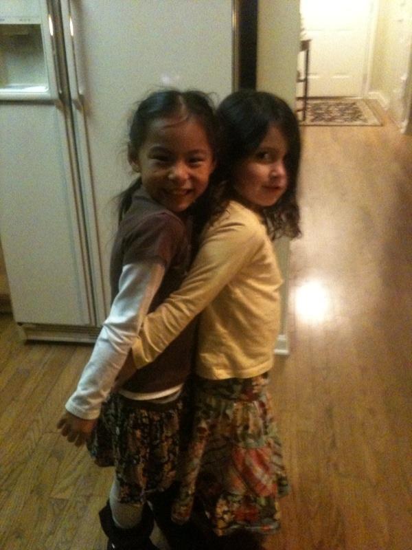 Maya and stevey Joy