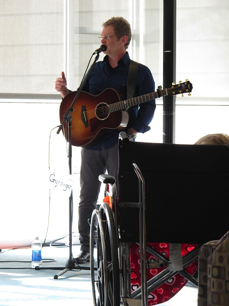 Singing at Geisinger