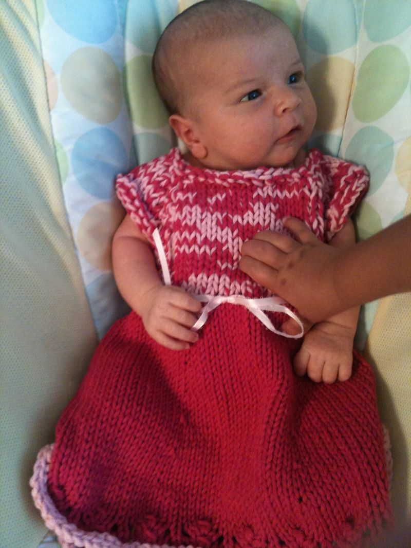 Annika pink dress