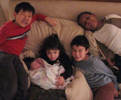Jeremiah,nathan, maya, cole & story