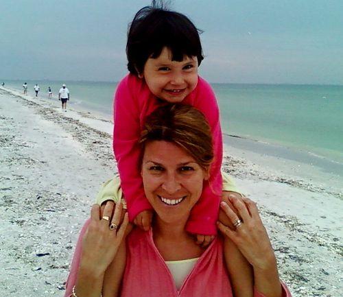 Maya and mommy
