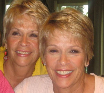 mom and her twin